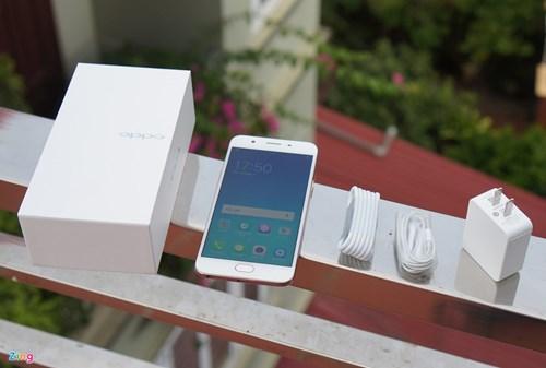 Mo hop Oppo F1s: Smartphone chuyen selfie, dang ua nhin hinh anh 6