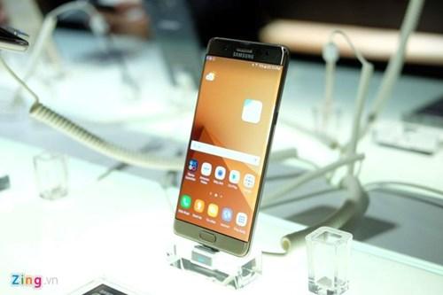 Galaxy Note 7 se chay hang o Viet Nam hinh anh 1