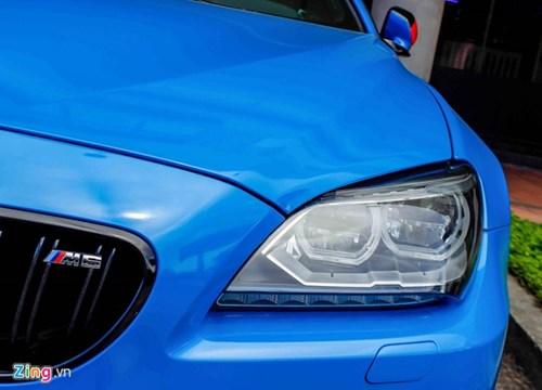 BMW M6 duy nhat Sai Gon doi mau xanh 'A Rap' hinh anh 5