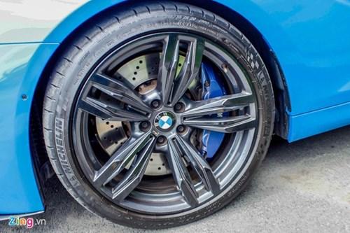 BMW M6 duy nhat Sai Gon doi mau xanh 'A Rap' hinh anh 6