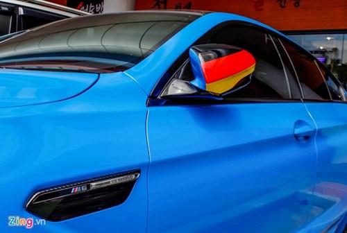 BMW M6 duy nhat Sai Gon doi mau xanh 'A Rap' hinh anh 7
