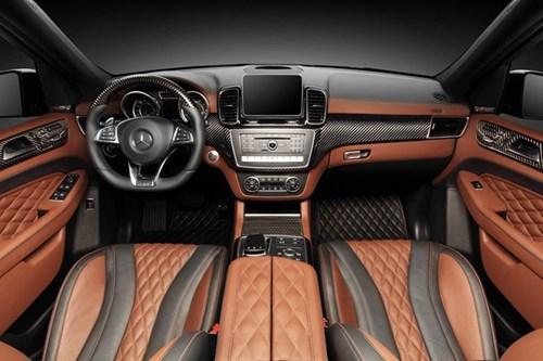 Mercedes GLE 63 AMG do noi that boc da ca sau va vang 24K hinh anh 3