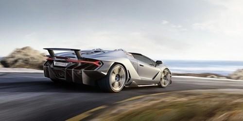 Anh Lamborghini Centenario Roadster 2,3 trieu USD vua ra mat hinh anh 2