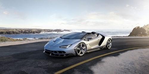 Anh Lamborghini Centenario Roadster 2,3 trieu USD vua ra mat hinh anh 3