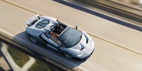 Anh Lamborghini Centenario Roadster 2,3 trieu USD vua ra mat hinh anh 4