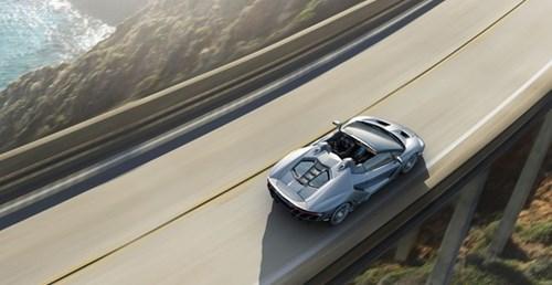 Anh Lamborghini Centenario Roadster 2,3 trieu USD vua ra mat hinh anh 5