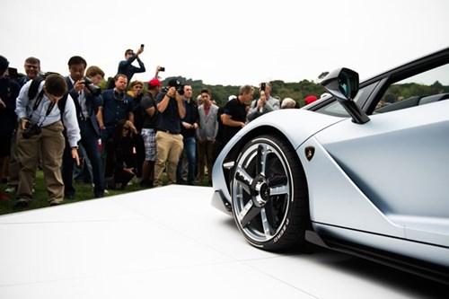 Anh Lamborghini Centenario Roadster 2,3 trieu USD vua ra mat hinh anh 7