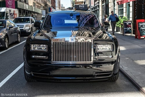 Rolls-Royce Phantom - tuong dai cua the gioi xe sieu sang hinh anh 4