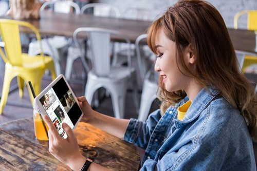 Ba tinh nang cua Galaxy Tab A6 duoc nguoi dung tre ua chuong hinh anh 2