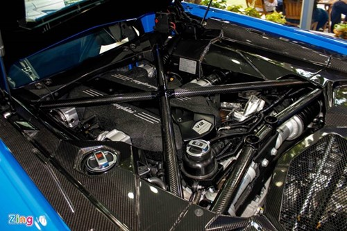Sieu xe Lamborghini Aventador mau hiem ve Viet Nam hinh anh 5