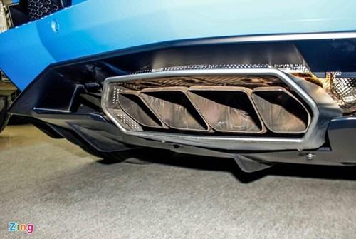Sieu xe Lamborghini Aventador mau hiem ve Viet Nam hinh anh 6