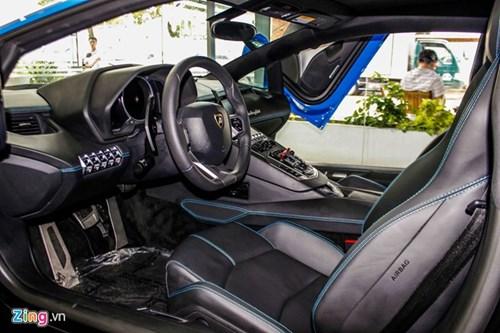 Sieu xe Lamborghini Aventador mau hiem ve Viet Nam hinh anh 7