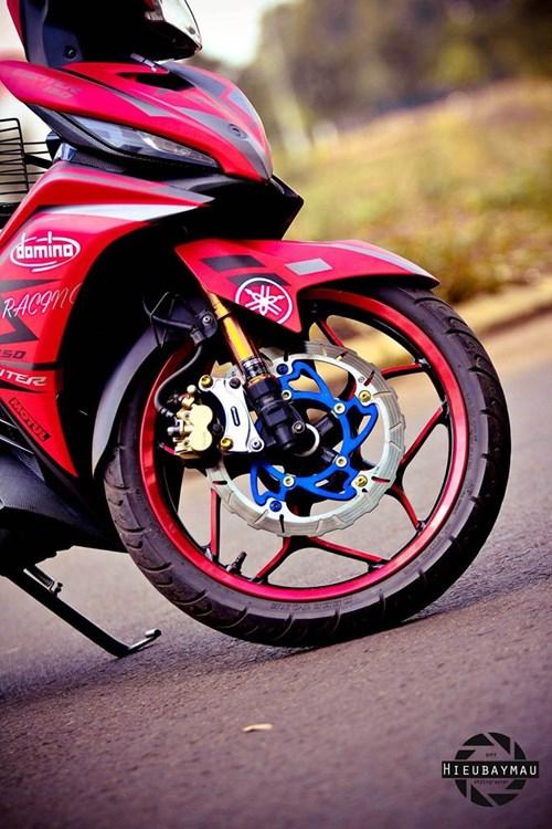 Exciter 135 len do choi nhe cua biker Dak Lak hinh anh 5