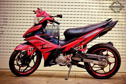 Exciter 135 len do choi nhe cua biker Dak Lak hinh anh 2