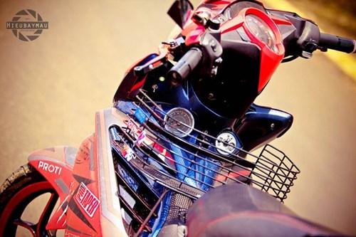 Exciter 135 len do choi nhe cua biker Dak Lak hinh anh 3