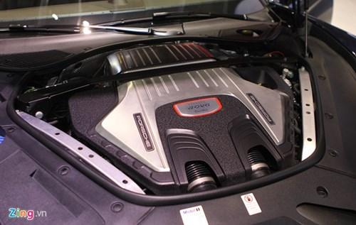 Anh thuc te Porsche Panamera Turbo 2017 vua ra mat o VN hinh anh 10
