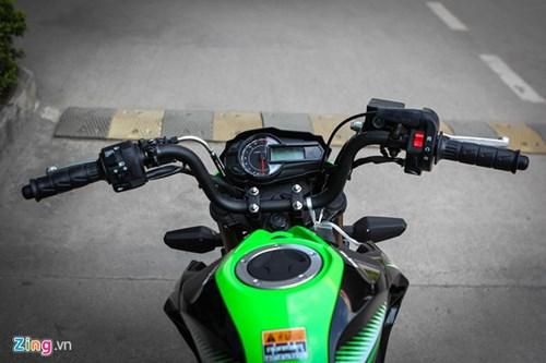 Kawasaki Z125 Pro ban dac biet gia hon 80 trieu tai Ha Noi hinh anh 4