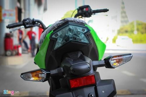Kawasaki Z125 Pro ban dac biet gia hon 80 trieu tai Ha Noi hinh anh 6
