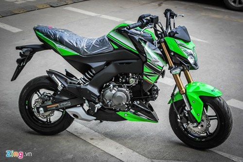 Kawasaki Z125 Pro ban dac biet gia hon 80 trieu tai Ha Noi hinh anh 5