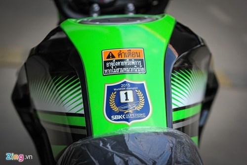 Kawasaki Z125 Pro ban dac biet gia hon 80 trieu tai Ha Noi hinh anh 3