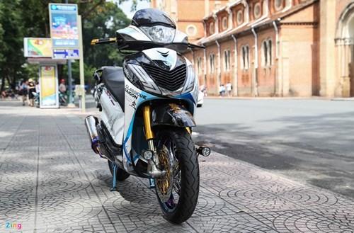 Honda SH bien ngu quy do tren 200 trieu cua biker Sai Gon hinh anh 2