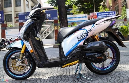 Honda SH bien ngu quy do tren 200 trieu cua biker Sai Gon hinh anh 3