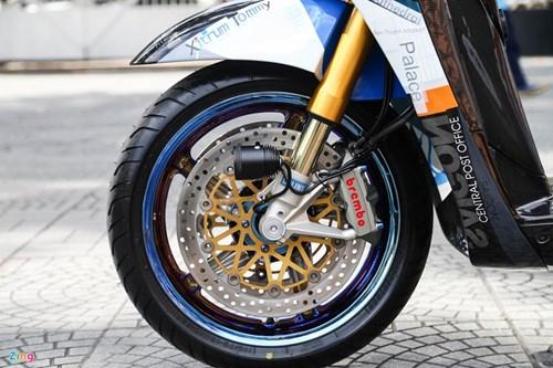 Honda SH bien ngu quy do tren 200 trieu cua biker Sai Gon hinh anh 5