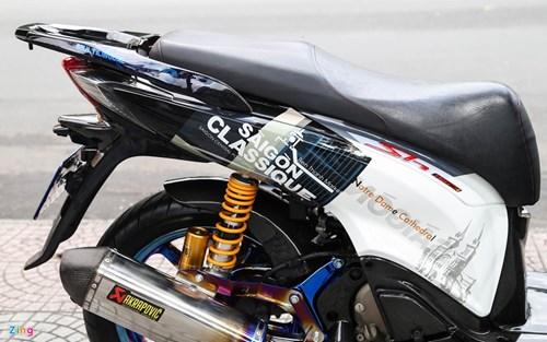 Honda SH bien ngu quy do tren 200 trieu cua biker Sai Gon hinh anh 9