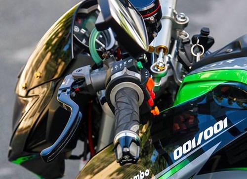 Yamaha FZ150i do phong cach moto phan khoi lon o Sai Gon hinh anh 2