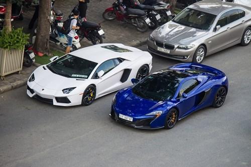 McLaren 650S cua Minh Nhua tu hop bo 3 Lamborghini hinh anh 7
