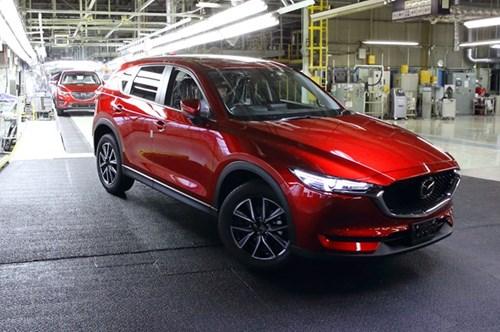 Mazda CX-5 2017 dau tien xuat xuong tai Nhat Ban hinh anh 1