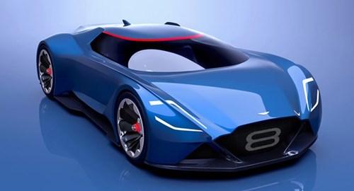 Vision 8 - xe tuong lai cua Aston Martin hinh anh 1