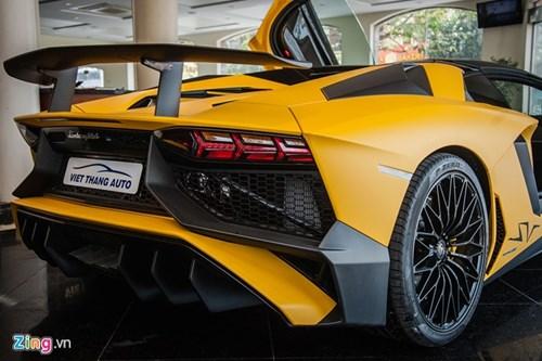 Sieu xe mui tran Lamborghini Aventador Roadster doc nhat VN hinh anh 6