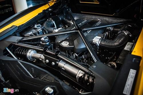 Sieu xe mui tran Lamborghini Aventador Roadster doc nhat VN hinh anh 9