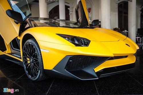 Sieu xe mui tran Lamborghini Aventador Roadster doc nhat VN hinh anh 3
