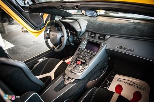 Sieu xe mui tran Lamborghini Aventador Roadster doc nhat VN hinh anh 7