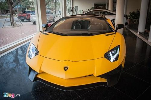 Sieu xe mui tran Lamborghini Aventador Roadster doc nhat VN hinh anh 2