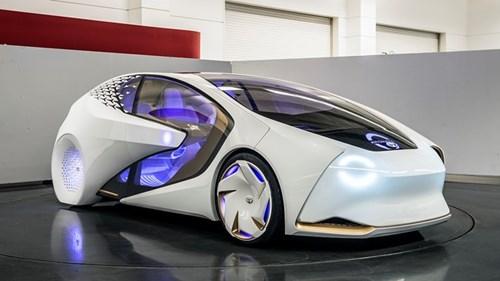Toyota tham gia san choi xe tu lai voi Concept-i hinh anh 1