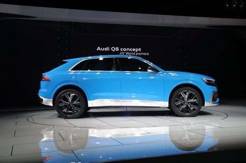 Audi Q8 concept: Thach thuc moi cua BMW X6 hinh anh 2