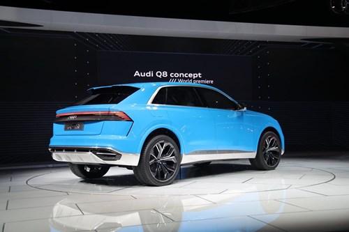 Audi Q8 concept: Thach thuc moi cua BMW X6 hinh anh 5