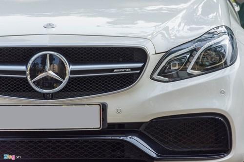 Mercedes E63 S AMG doc nhat tai Ha Noi hinh anh 3