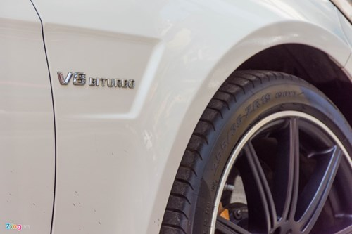 Mercedes E63 S AMG doc nhat tai Ha Noi hinh anh 7