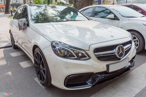 Mercedes E63 S AMG doc nhat tai Ha Noi hinh anh 2