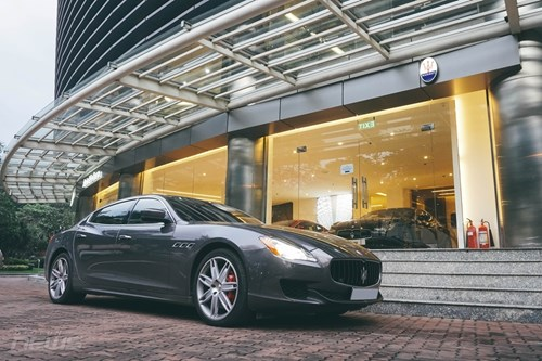 maserati quattroporte sedan the thao hang sang cho nguoi me toc do 9051