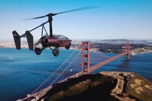 PAL-V Liberty - Ô tô bay sắp trình làng, giá khoảng 600.000 USD - Ảnh 1.
