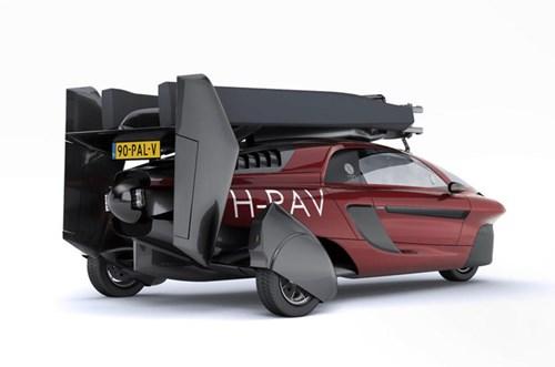 PAL-V Liberty - Ô tô bay sắp trình làng, giá khoảng 600.000 USD - Ảnh 3.