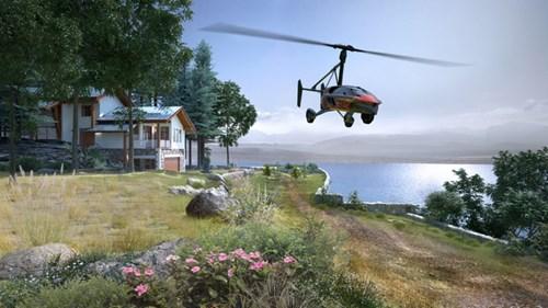 PAL-V Liberty - Ô tô bay sắp trình làng, giá khoảng 600.000 USD - Ảnh 4.
