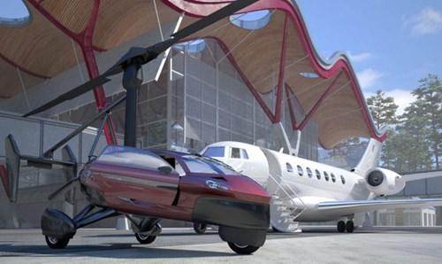 PAL-V Liberty - Ô tô bay sắp trình làng, giá khoảng 600.000 USD - Ảnh 8.