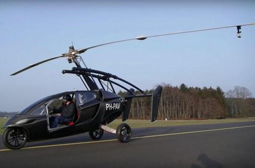 PAL-V Liberty - Ô tô bay sắp trình làng, giá khoảng 600.000 USD - Ảnh 9.