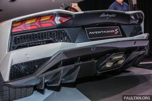 Cận cảnh Lamborghini Aventador S giá 9,22 tỷ Đồng chưa thuế tại Đông Nam Á - Ảnh 6.